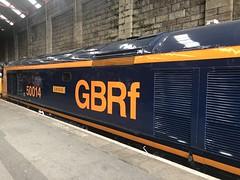 50007 at Penzance railway station (David Jones) Tags: class50 railtour penzance railway station train 50007