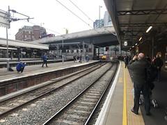 Locomotives 50007 and 50049 approaching London Paddington railway station (David Jones) Tags: class50 railtour londonpaddington railway station train 50007 50049