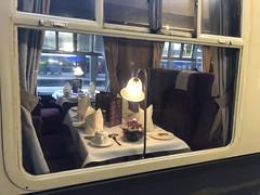 Dining coach on Class 50 railtour (David Jones) Tags: class50 railtour londonpaddington railway station train diningcoach