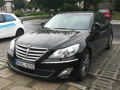 Hyundai Genesis BH (Norbert Bánhidi) Tags: hungary kecskemét car vehicle hyundai ungarn hungría hongrie ungheria hungria hongarije венгрия magyarország ketschkemet кечкемет kečkemet kečkemit