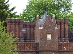 North End Lodge, Audley Park, Essex, UK (mira66) Tags: gwuk lodge chimney audleyend littlebury essex estate england park