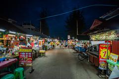 Local night market at Lampang (Thanathip Moolvong) Tags: local night market lampang