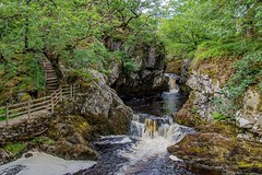 Ingleton Waterfall trails Snow Falls (Charlie Little) Tags: ingleton waterfalls northyorkshire landscape longexposure rivers nikon d7200 sigma1020mm snowfalls