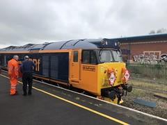 50049 at Newton Abbot railway station (David Jones) Tags: class50 railtour newtonabbot railway station train 50049