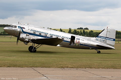 SE-CFP (Baz Aviation Photo's) Tags: secfp douglas dc3 c47 scandinavian airlines system daisy duxford egsu qfo daks over normandy