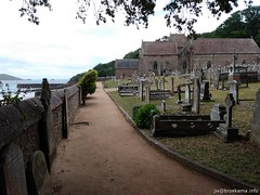 20190607-121943-071-JWB (Jan Willem Broekema) Tags: channel islands jersey st green nature beach bay ebb flood tides rocky plants saint ferry ships brélade cemetery ancient fisherman chapel parish church