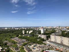 Россия. Урал 2019. Russia. Ural 2019. (svv.david) Tags: россия урал 2019 russia ural city green trees house building sky blue summer heat hot car road