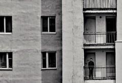 one (Sergei_41) Tags: россия краснознаменск монохром стена окно чб человек один дом russianphoto russia tz100 panasonic lumix krasnoznamensk monochrome monochromatic wall window one man house building city citylife cityscape urban urbanwall wb bw noir blackandwhite blancoynegro blackandwhitephotography blackwhite blackandwhitephoto bnwcity bnwmood bnw