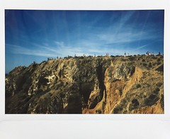 People on the Hill. (miroir.photographie) Tags: instaxwide rf70 algarve portugal istillshootfilm argentique analog