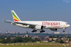 Ethiopian Cargo (ab-planepictures) Tags: ethiopian cargo boeing 777 bru ebbr flugzeug flughafen plane aircraft planespotting aviation airport