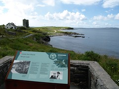 Rinvyle Castle (lepotev) Tags: ireland irlanda eire europa europe connacht connaught playas playa beach beaches countymayo countygalway galway mayo nature coast natura naturaleza mar sea weekend finde findesemana turismo tourism connemara glassilaun rinvyle omeyisland lettergesh
