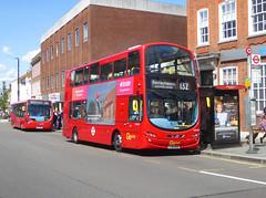 GAL WVL462 - LJ61NUW - ELTHAM HIGH STREET - SAT 22ND JUNE 2019 (Bexleybus) Tags: eltham high street shopping centre se9 south east london goahead go ahead wrightbus gemini volvo b9tl tfl route 132 wvl462 lj61nuw