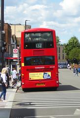 GAL WVL308 - LX59CYH - ELTHAM HIGH STREET - SAT 22ND JUNE 2019 (Bexleybus) Tags: eltham high street shopping centre se9 south east london goahead go ahead wrightbus gemini volvo b9tl tfl route 132 wvl308 lx59cyh