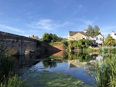 Photo of Pond at Cattawade, Suffolk