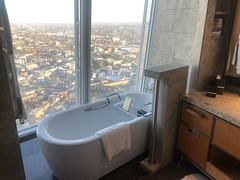 Room at the Shangri La Hotel at The Shard (David Jones) Tags: shangrila hotel theshard room bath