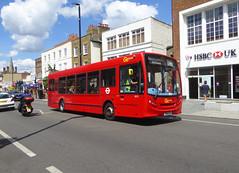 GAL SE72 - YX60FCA - ELTHAM HIGH STREET - SAT 22ND JUNE 2019 (Bexleybus) Tags: eltham high street shopping centre se9 south east london goahead go ahead adl dennis enviro 200 tfl route b16 se72 yx60fca