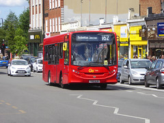 GAL 186 - YX13AJU - ELTHAM HIGH STREET - SAT 22ND JUNE 2019 (Bexleybus) Tags: eltham high street shopping centre se9 south east london goahead go ahead adl dennis enviro 200 tfl route 162 186 yx13aju