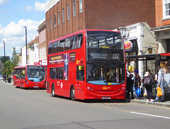 GAL E245 - YX61DPZ - ELTHAM HIGH STREET - SAT 22ND JUNE 2019 (Bexleybus) Tags: eltham high street shopping centre se9 south east london goahead go ahead adl dennis enviro 400 tfl route 132 e245 yx61dpz