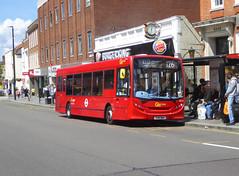 GAL SE121 - YX61BWV - ELTHAM HIGH STREET - SAT 22ND JUNE 2019 (Bexleybus) Tags: eltham high street shopping centre se9 south east london goahead go ahead adl dennis enviro 200 tfl route 126 se121 yx61bwv