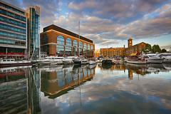 St Katharine Docks (lfeng1014) Tags: uk travel england sky building london water marina reflections landscape boats stkatharinedocks lifeng ef1635mmf28liiusm canon5dmarkiii sunset
