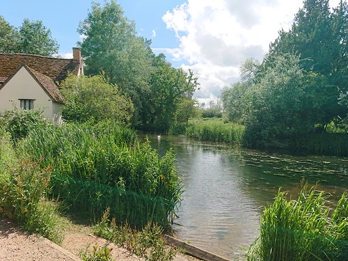 Willy Lotts Cottage the scene of John Constable's Hay Wain at Flatford Mill