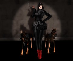 EVIL WITHIN (Rachel Swallows Inworld Elenamicheals Core) Tags: mistress dominatrix villian jamesbond