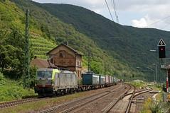 BLS Vectron 475 404 durchfährt mit KLV Kaub am Rhein, 22.06.2019 (-cg86-) Tags: vectron bls br193 kaub rhein rheintal rheinstrecke