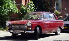 Peugeot 404 1973 (XBXG) Tags: 7640xk peugeot 404 1973 peugeot404 red rood rouge alexanderboersstraat museumkwartier amsterdam nederland holland netherlands paysbas vintage old classic french car auto automobile voiture ancienne française france frankrijk vehicle outdoor