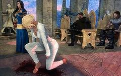 Emmye (MadiSLroleplay) Tags: got game thrones sl secondlife second life roleplay rp fantasy medieval mormont blackwood tyrell hightower knight vigil