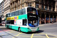 Driver Training (Chris Baines) Tags: eastcoast buses volvo b7tl wright eclipse gemini sn56 aey edinburgh driver training
