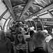 Passengers aboard Brienz-Rothorn Mountain Railway