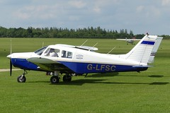 Piper PA-28-140 Cherokee G-LFSC (Gavin Livsey) Tags: sywell cherokee pa28 glfsc