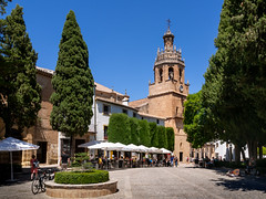 Ronda, Spain. (Johnners61) Tags: ronda spain espania andalucia town city oldtown street omd olympusomd olympus omdem5 sunny sun microfourthirds micro four thirds mft m43 church tower cathedral historic medieval