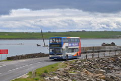 ESK985 (southlancs) Tags: dennistrident stagecoach stagecoachorkney stagecoachscotland orkneybuses alexanders scottishbuses
