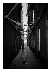 FILM - Alleyway (fishyfish_arcade) Tags: 35mm analogphotography bw barcelona blackwhite blackandwhite cimko28mmf28 filmphotography filmisnotdead hp5 istillshootfilm monochrome olympusom10 analogcamera film ilford mono streetphotography