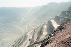 CHILE 1996 - Mineral de Chucicamata (Julio Herrera Ibanez) Tags: chile nortegrande chuquicamata mina cobre