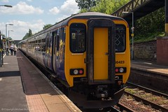 Northern 156423 (Mike McNiven) Tags: arriva railnorth northern sprinter supersprinter manchester oxfordroad liverpool limestreet huntscross dmu diesel multipleunit
