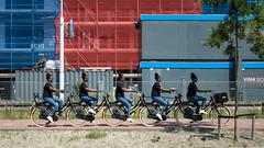 Taaaaandem (glukorizon) Tags: 52weeksof2019 bicyclelane bicyclepath bouwterrein cloning constructionsite fiets fietspad five girl hss lagen layering meisje pad path sliderssunday vijf