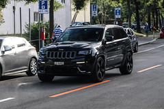 Switzerland (Lucerne) - Jeep Grand Cherokee SRT (PrincepsLS) Tags: switzerland swiss license plate spotting lugano lu lucerne jeep grand cherokee srt