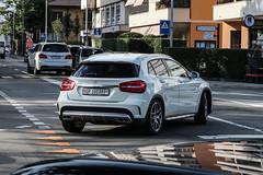 Switzerland (Grigioni) - Mercedes-Benz GLA 45 AMG X156 (PrincepsLS) Tags: switzerland swiss license plate spotting lugano gr grigioni mercedesbenz gla 45 amg x156