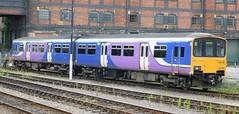 The Winking Sprinter (The Walsall Spotter) Tags: northernrail class150 150135 sprinter dmu huddersfield railway station networkrail britishrailways ly lancashireyorkshire warehouse