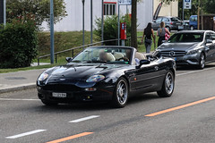 Switzerland (Ticino) - Aston Martin DB7 Volante (PrincepsLS) Tags: switzerland swiss license plate spotting lugano ti ticino aston martin db7 volante