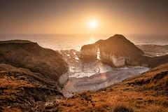 The Drinking Dinosaur (Rob Bates Photography) Tags: thedrinkingdinosaur flamborough flamboroughhead sunrise sea coast ukcoast british cave rocks bridlington seaside