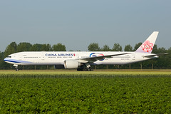 B-18006 | B773 | CHINA AIRLINES | EHAM (Ashley Stevens images) Tags: amsterdam schiphol airport eham ams canon eos aircraft aeroplane aviation civil airplane b18006