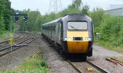 Still Going Strong (The Walsall Spotter) Tags: crosscountry trains hst intercity125 highspeedtrain class43 43207 waterorton railway station warwickshire networkrail britishrailways