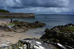 Achill's east shore. (carolinejohnston2) Tags: sea coast atlantic harbour rocks waves sand ocean ireland comayo landscape