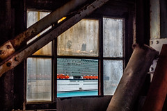 Fenêtre industrielle (michelgroleau) Tags: bateau port boat fenêtre window barbados barbades bridgetown destination