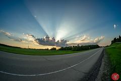 Big sky (Kasia Sokulska (KasiaBasic)) Tags: summer canada road trip travel nature landscape alberta prairies sky