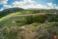 Dry Island (Kasia Sokulska (KasiaBasic)) Tags: summer canada alberta travel landscape nature road trip badlands prairies sky