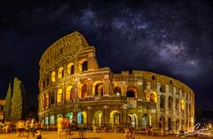 D71_7137-Pano-Edit.jpg (PitStoPhotography) Tags: travel travelphotography coliseum natgeo rome longexposure italy masterpiece nighscape cityscape